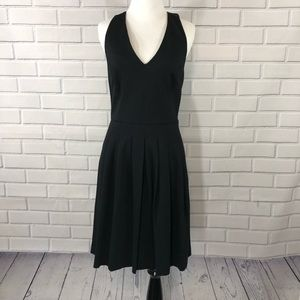 NWT Banana Republic Sleeveless Black Pleated Dress